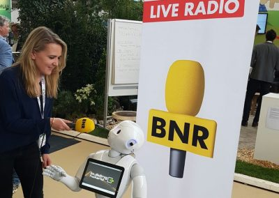 robot live on radio