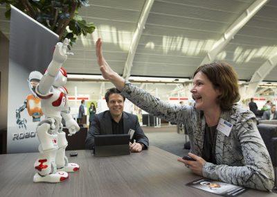 RobotXperience, robot meet-en-greet