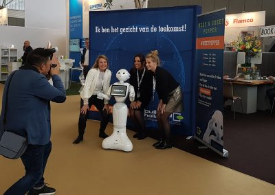 RobotXperience, robot on innovation event