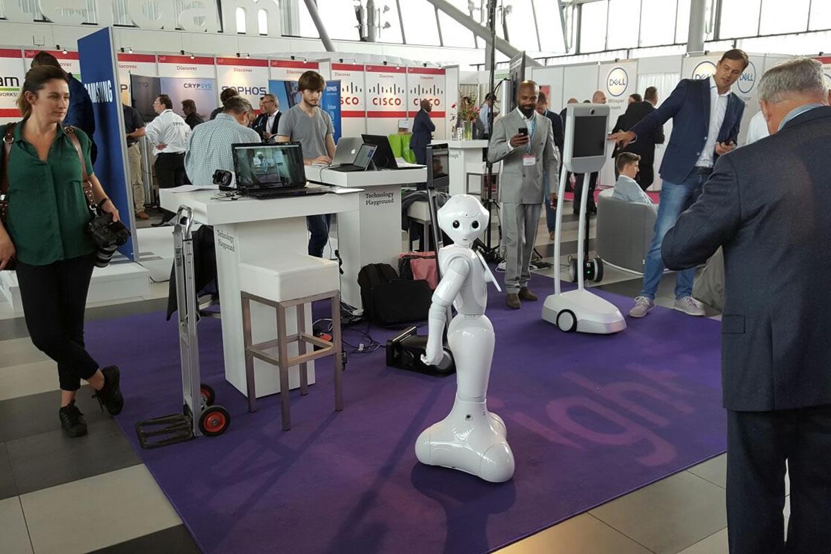 Stage robot programmeur