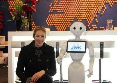 RobotXperience,robot-op-beurs-Berlijn-JWK