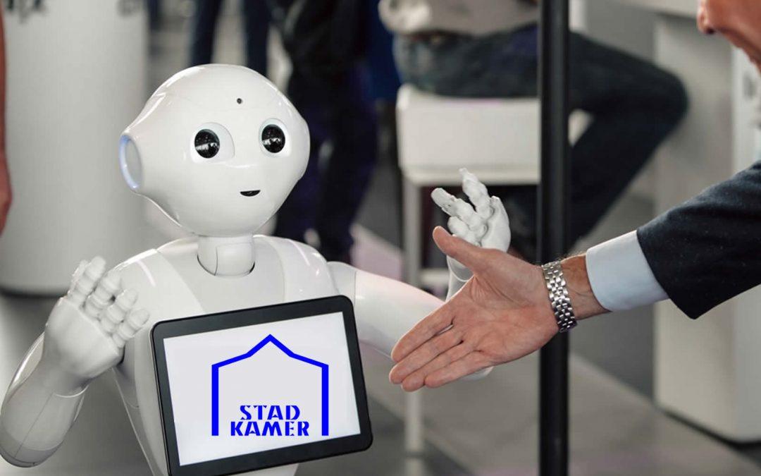 Stadkamer en RobotXperience laten bezoekers kennis maken met de toekomst