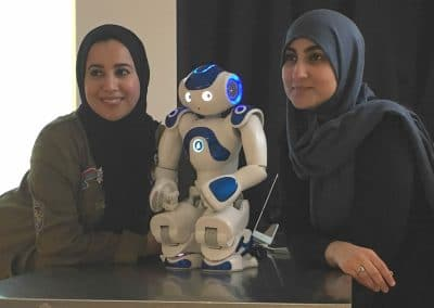 Getting to know-a-robot