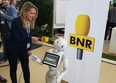 Robot in the news