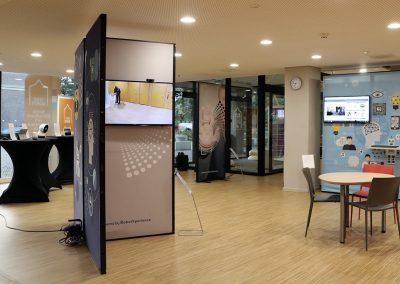 innovation-pop-up unit setup