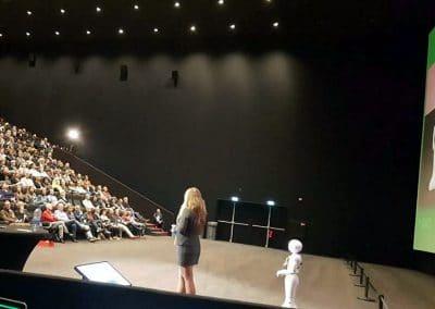 Helma Lensen, spreker robots in het onderwijs