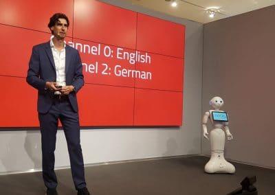 Randall van Poelvoorde, robots, innovatie en exponentiële technologie