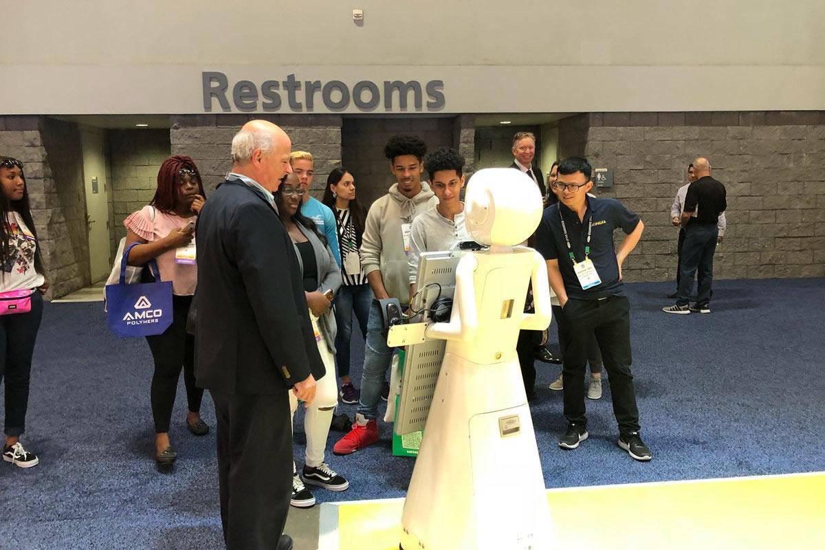 Paul McManus, integrate AI and robotics into your company