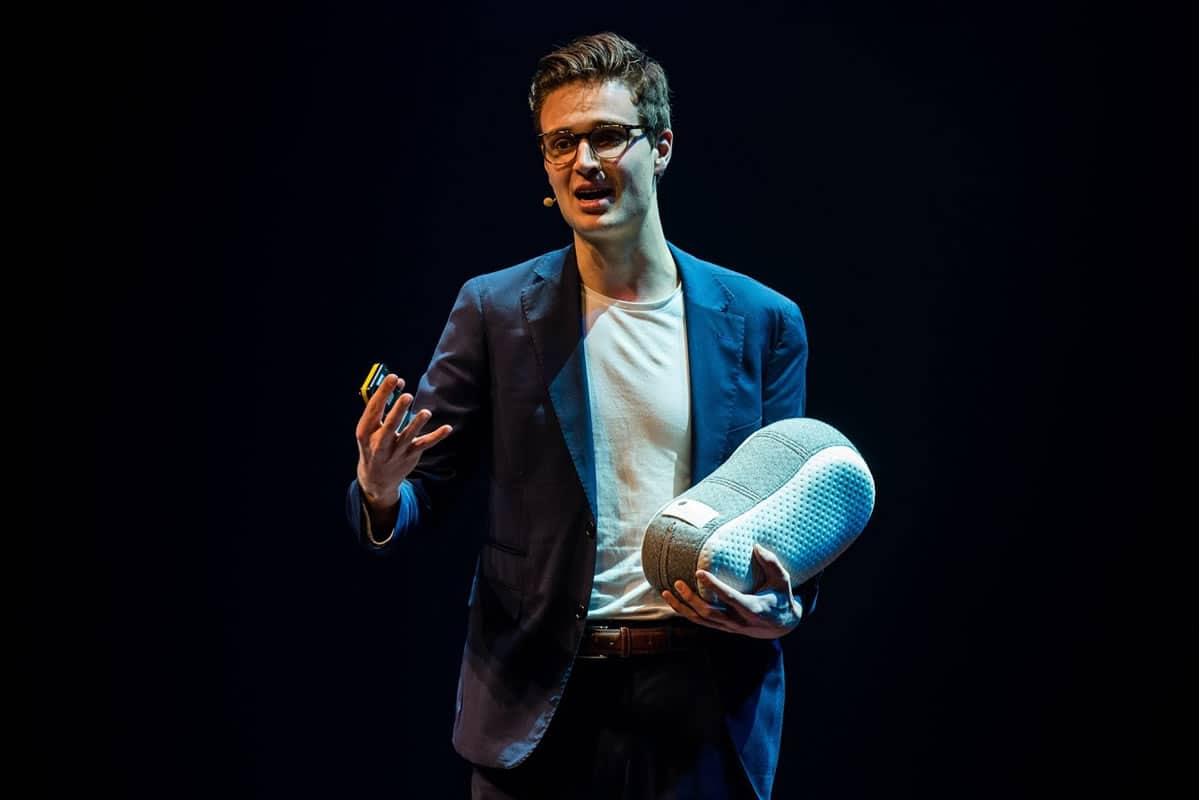 Ir. Julian Jagtenberg, spreker preventieve zorg m.b.v. robotica en kunstmatige intelligentie