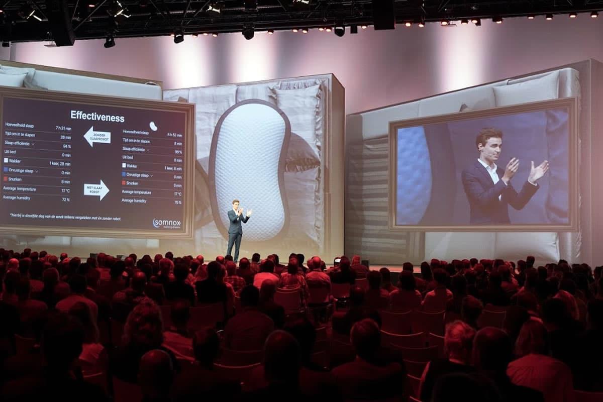 Spreker preventieve zorg m.b.v. robotica en kunstmatige intelligentie, Drs. Julian Jagtenberg